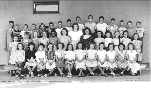 Greenfield Union School--Naney 5th Grade--Bakersfield, CA--5-10-49